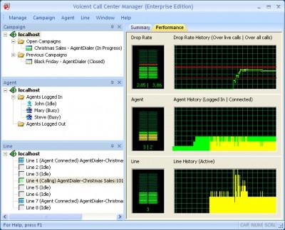 Call Center Manager 9.0.5 screenshot