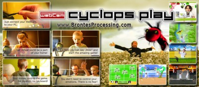 CamGames - WebCam Cyclops PLAY Games 1.0.1.1103 screenshot