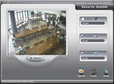 CamGuard Security System 4.1.14 screenshot
