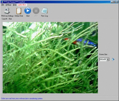 CamShot Monitoring Software 3.2.5 screenshot