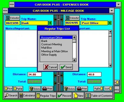 Car Book Plus 5.1 screenshot