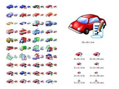 Car Icon Library 3.10 screenshot