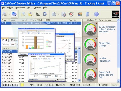 CARCare Desktop Edition 2.0.078 screenshot