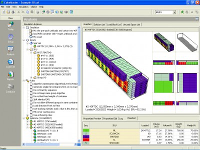 Cargo Load Plan - CubeMaster 10.10.6.0 screenshot