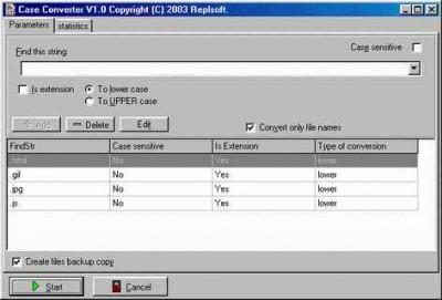 Case Converter 1.1 screenshot