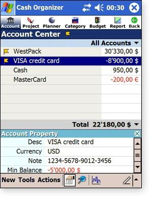 Cash Organizer '05 Premium 6.98.5 screenshot