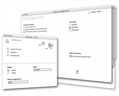 CatGrab for Windows 1.3.9 screenshot
