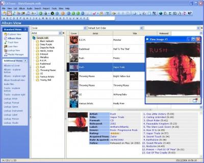 CATraxx - Music Database 7.32.07 screenshot