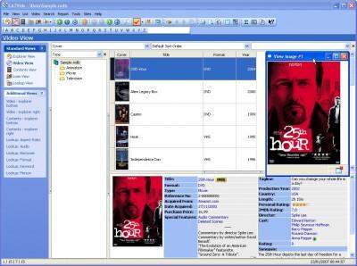 CATVids  DVD Database 7.22 screenshot