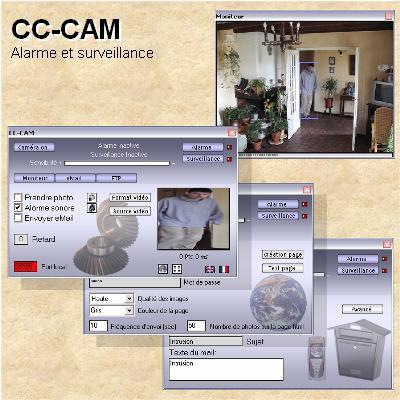 CC-CAM alarm system 1.4.9 screenshot