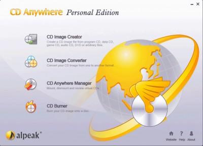 CD Anywhere 3.0,6.2006 screenshot