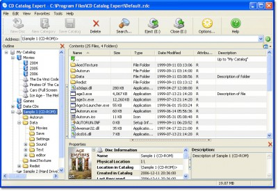 CD Catalog Expert 9.30.807.1 screenshot