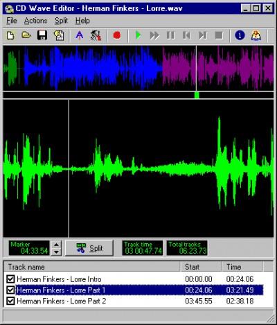 CD Wave Editor 1.98 screenshot