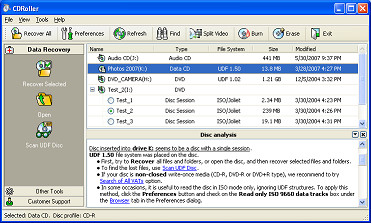 CDRoller 11.20.80 screenshot