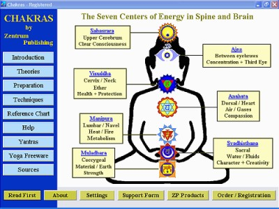 Chakras 3.6 screenshot