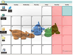 Chameleon Calendar 1.0 screenshot