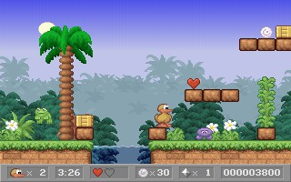 Charlie the Duck 2.4 screenshot