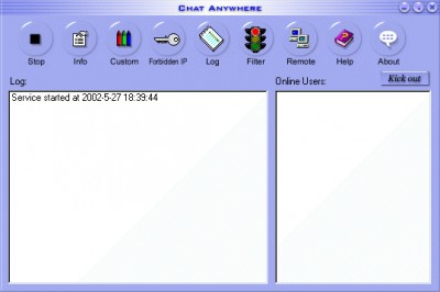 Chat Anywhere 2.82 screenshot