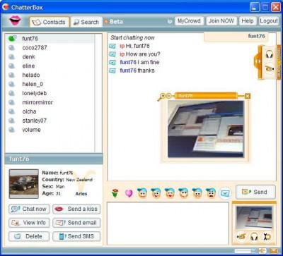 ChatterBox 4.6.8.0 screenshot