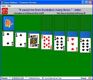 Cheat Solitare 1.06 screenshot