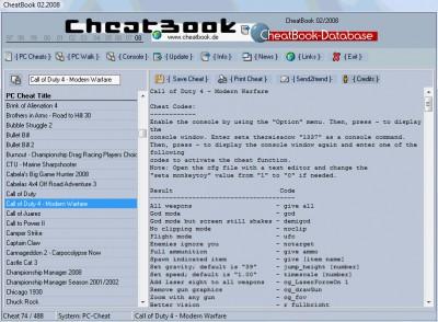 CheatBook Issue 02/2008 02-2008 screenshot