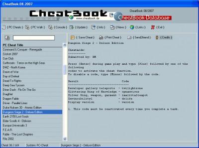 CheatBook Issue 08/2007 08-2007 screenshot