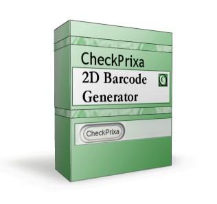 CheckPrixa 2D Barcode Generator 1.02 screenshot