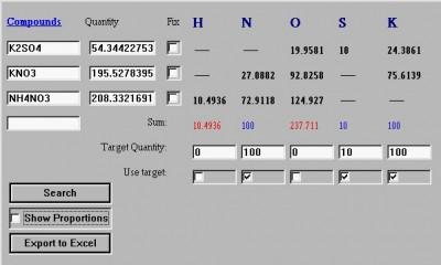 Chemical Calculator 1.0.1.3 screenshot