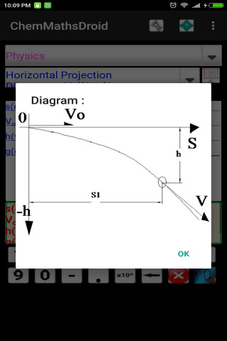 ChemMathsDroidfree 3.9 screenshot