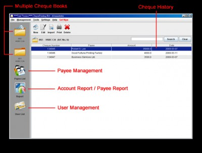 ChequePrinting.Net Software 4.4.0 screenshot