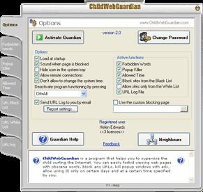 ChildWebGuardian 4.0 screenshot