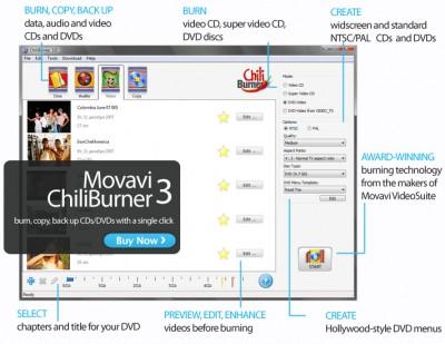ChiliBurner 3.3 screenshot