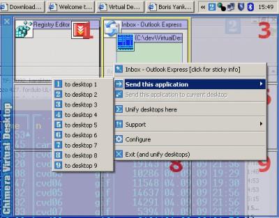 Chimera Virtual Desktop 1.4.0 screenshot