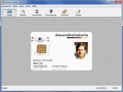 Chipcard master 7.11 screenshot