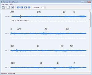 Chord Pickout 3.0 screenshot