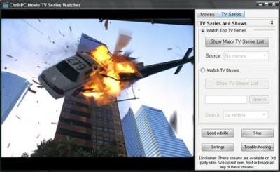 ChrisPC Movie TV Series Watcher 1.20 screenshot