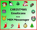 Christmas MSN Emoticons 1.0 screenshot