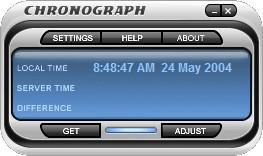 Chronograph Lite 4.1 screenshot
