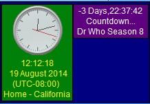 Chronos Clock 5.01.26 screenshot