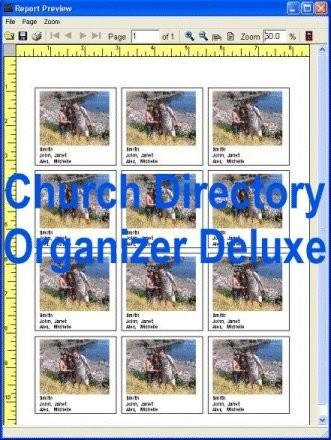 Church Directory Organizer Deluxe 4.12 screenshot