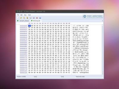 CI Hex Viewer (Linux) 1.3 screenshot