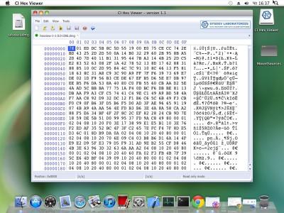 CI Hex Viewer (Mac OS) 1.3 screenshot
