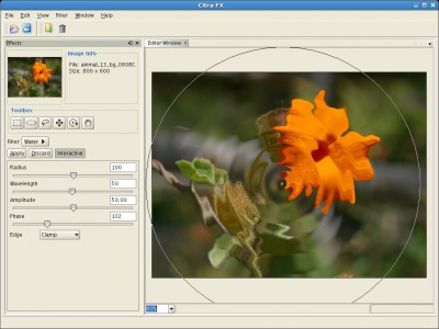 Citra FX Photo Effects 4.1 screenshot