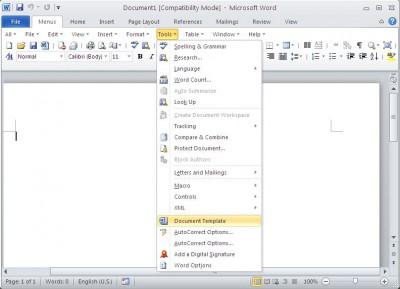 Classic Menu for Word 2010 64-bit 5.00 screenshot