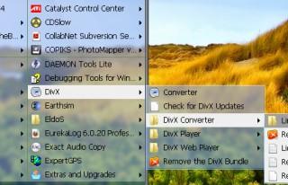 Classic Start Menu Deutsch 6.2 screenshot