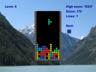 Classic Tetris 2.1 screenshot