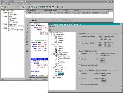 ClearSQL 1.3.1 screenshot