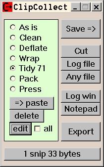 Clip'n Collect 1.8.1 screenshot