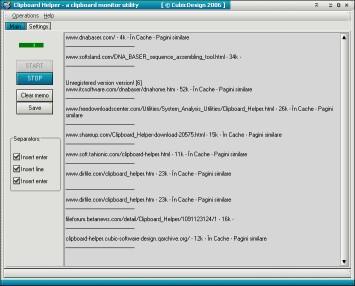 Clipboard Helper 2.1.0.58 screenshot