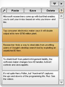 Clipboard Viewer 1.0.1 screenshot